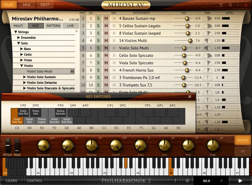 Miroslav Philharmonik 2 : kvr miroslav philharmonik 2 by ik multimedia virtual instruments vst plugin audio units ~ Vivirlamusica.com Haus und Dekorationen