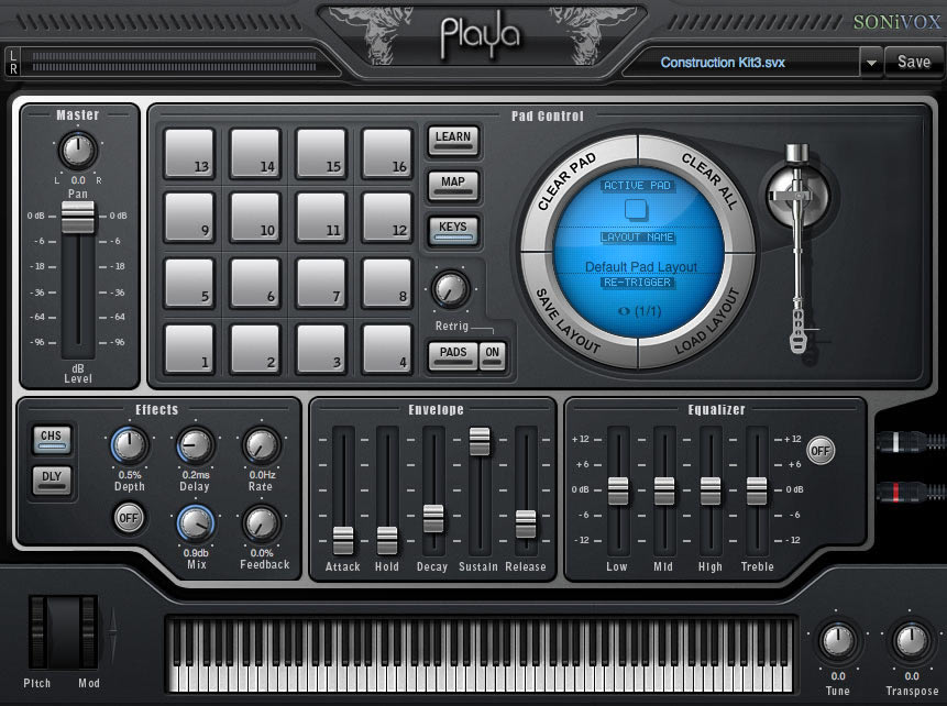 KVR: Playa - Hip Hop Virtual Instrument by SONiVOX - Hip Hop Module