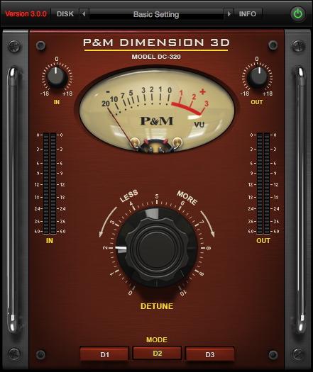 P&M DIMENSION 3D