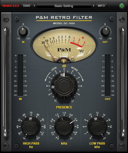 P&M RETRO FILTER