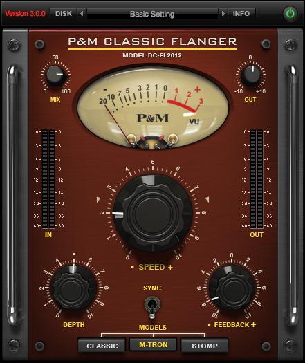 P&M CLASSIC FLANGER