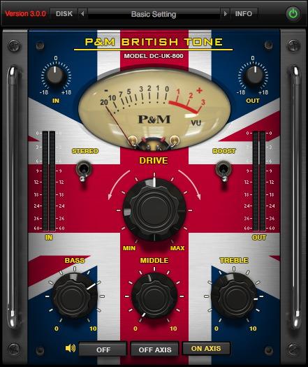 P&M BRITISH TONE