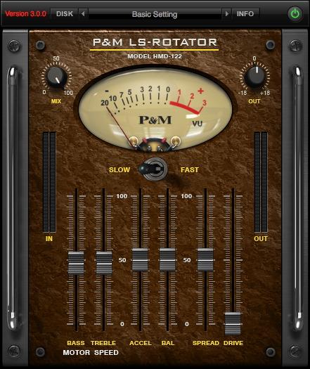 P&M LS ROTATOR