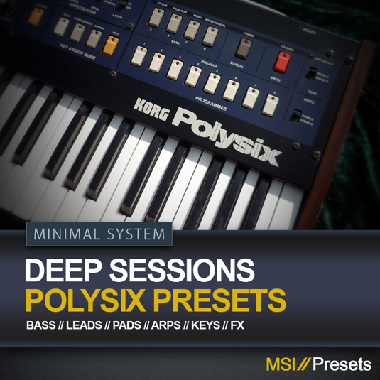 Deep Sessions for Korg's PolySix