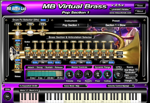 MB Virtual Brass Pop