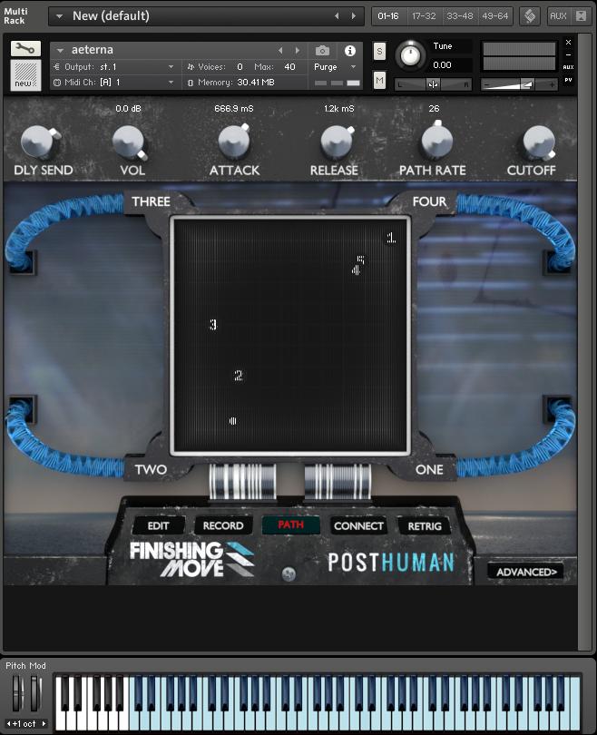 Finishing Move releases Posthuman for Kontakt 5.5