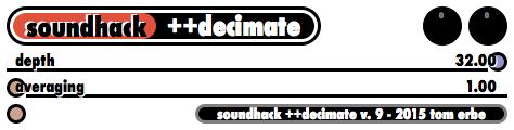 ++decimate