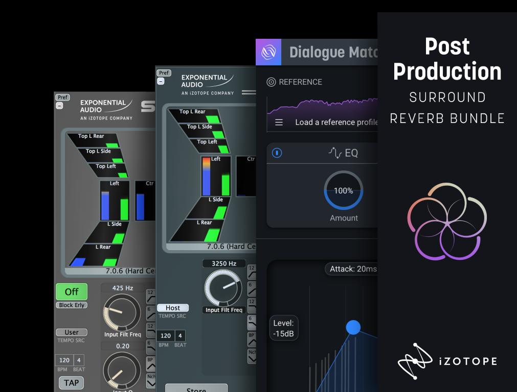 Post Production Surround Reverb Bundle