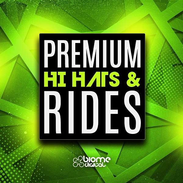 Premium Hi Hats and Rides (Percussion Library)