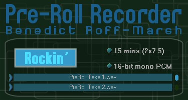 PreRoll Recorder