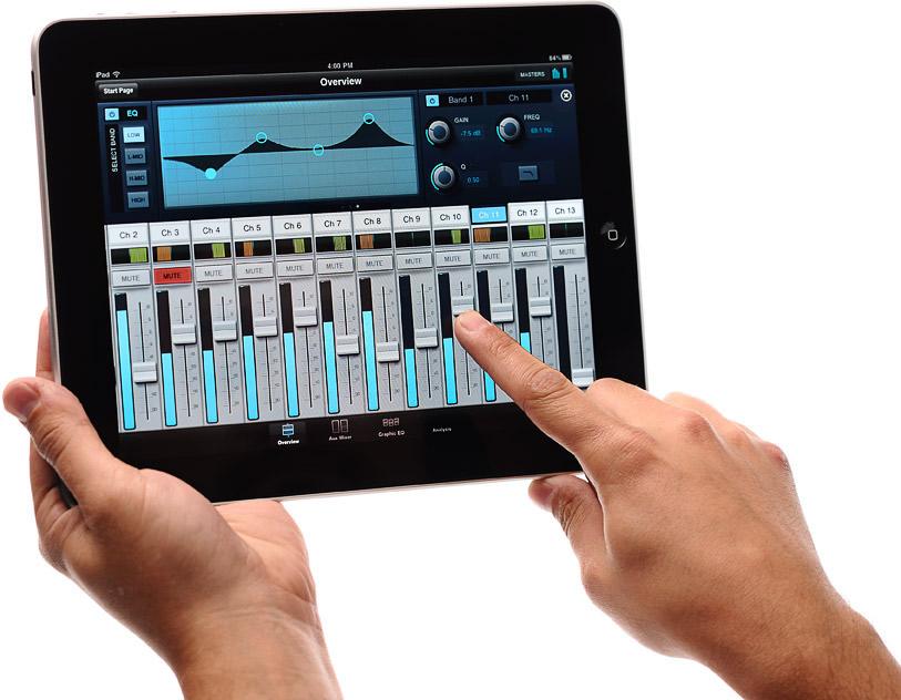 kvr presonus releases studiolive remote for ipad controls studiolive digital mixers. Black Bedroom Furniture Sets. Home Design Ideas