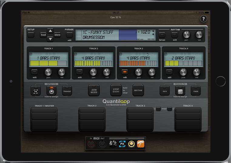 Quantiloop - Live Quantizing Looper for iPad