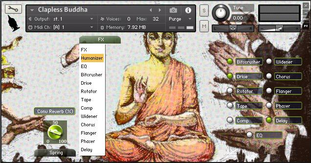 Clapless Buddha