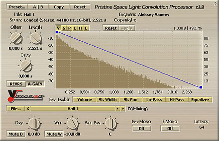 Pristine Space Light