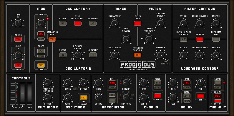 Prodigious Synthesizer
