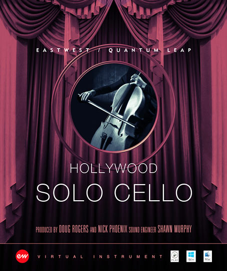 Hollywood Solo Cello - Gold