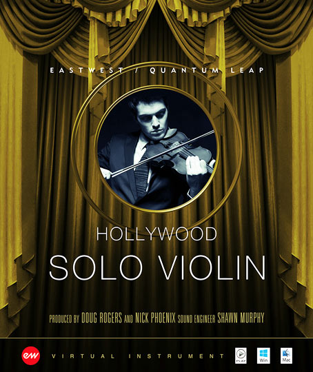Hollywood Solo Violin - Gold
