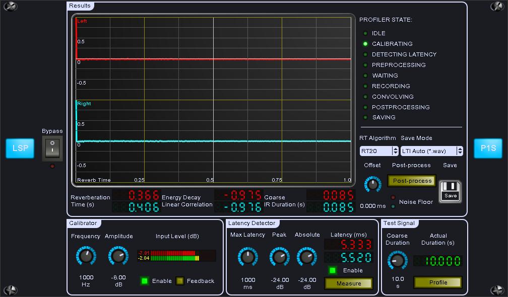 KVR: LSP Profiler plugin series by Linux Studio Plugins Project