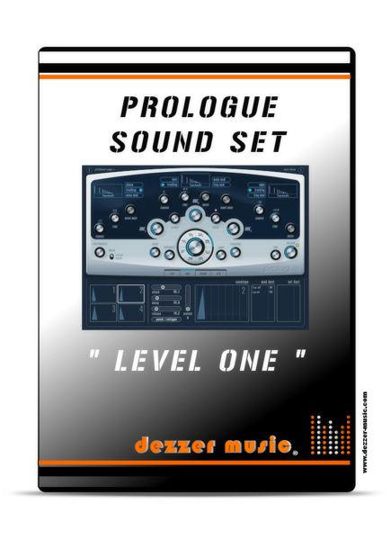 Level One - Sound Instrument Set for Steinberg Prologue