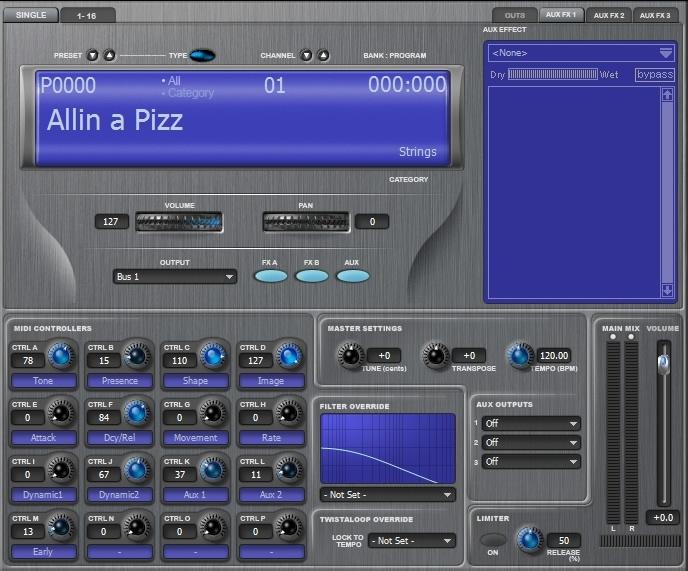 KVR: Proteus VX by E-MU - Sound Module VST Plugin