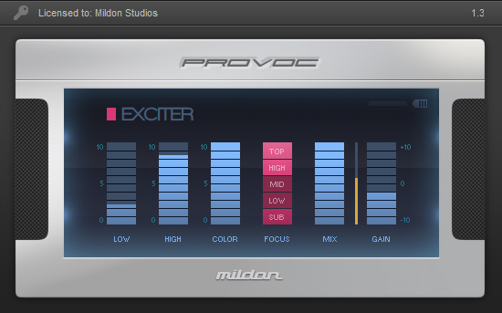 Provoc Exciter Silver Edition