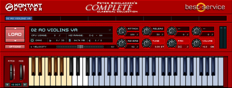 KVR: Peter Siedlaczek's Complete Classical Collection by