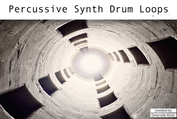 Percussive Synth Drum Loops