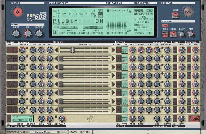 PSP 608 MultiDelay