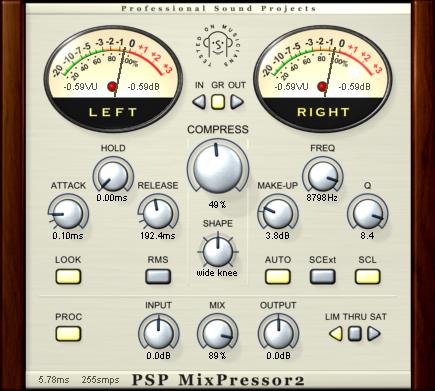 PSP MixPressor