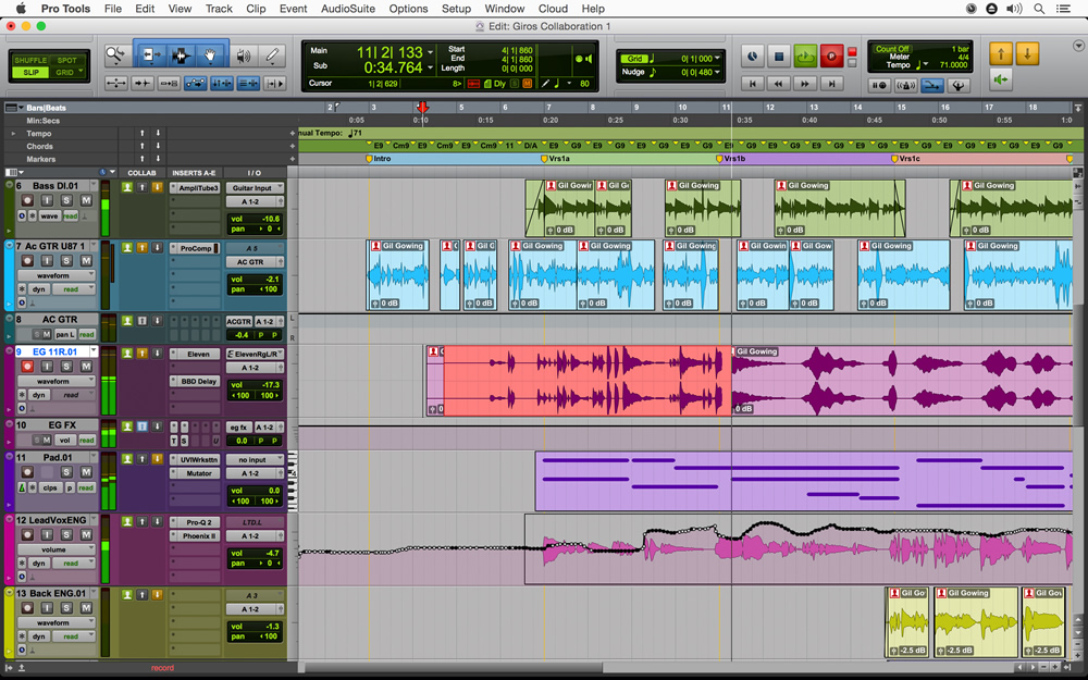 kvr pro tools by avid sequencer multitrack