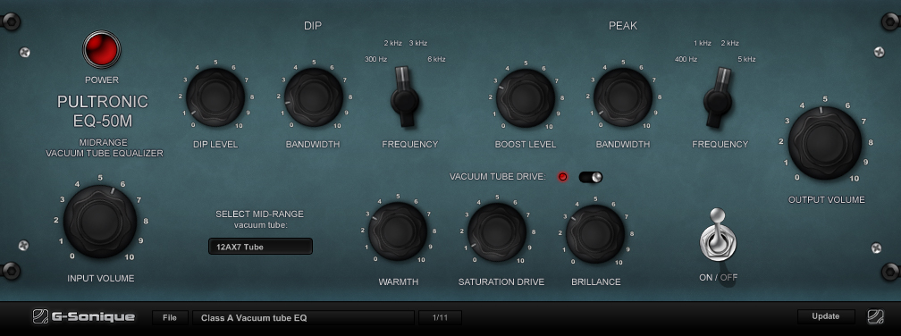 PULTRONIC EQ-50P