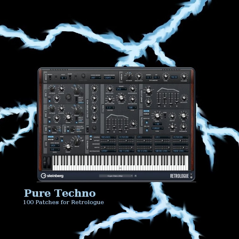 Pure Techno (Patches for Retrologue)