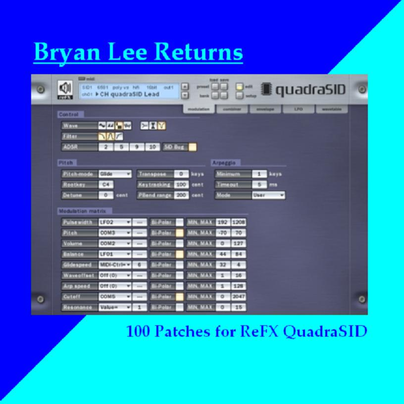 Bryan Lee Returns (sounds for QuadraSID)