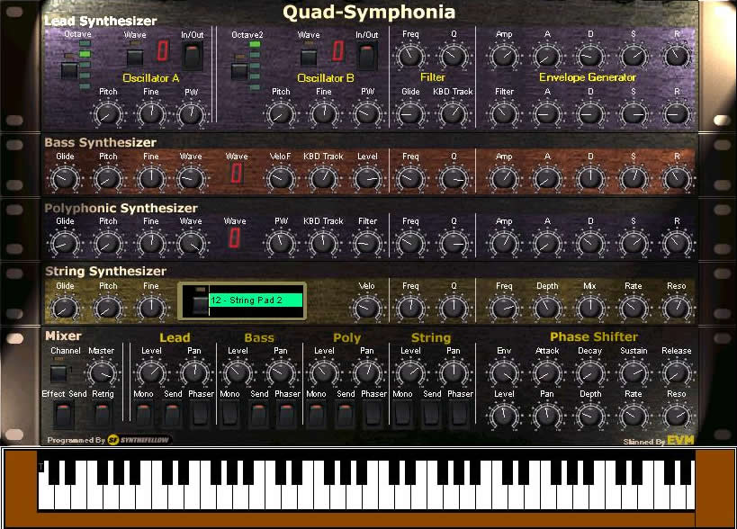 KVR: Quad Symphonia by Synthefellow - Synth (Analogue