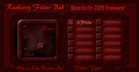 Rasberry Filter Pad