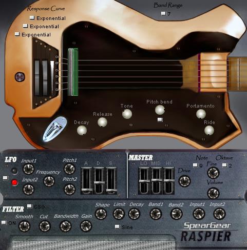 kvr raspier by speargear electric bass vst plugin. Black Bedroom Furniture Sets. Home Design Ideas
