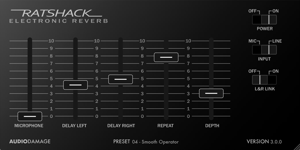 RatShack Electronic Reverb