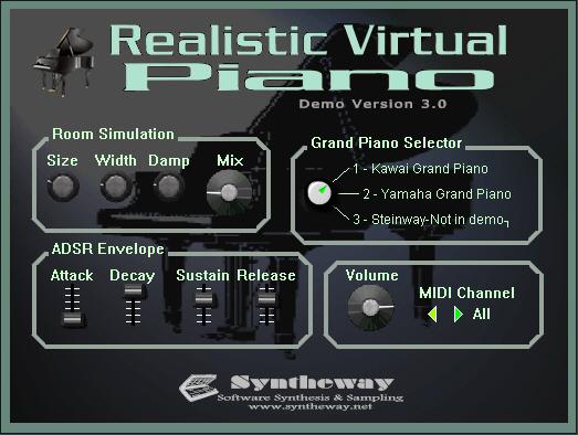 Realistic Virtual Piano