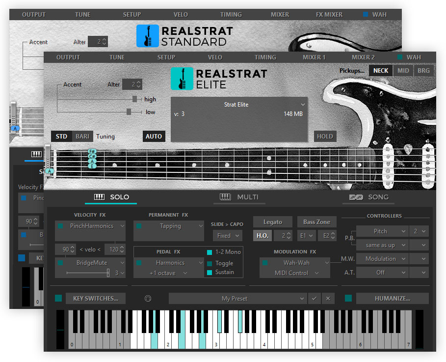 KVR: RealStrat by MusicLab - Guitar VST Plugin, Audio Units