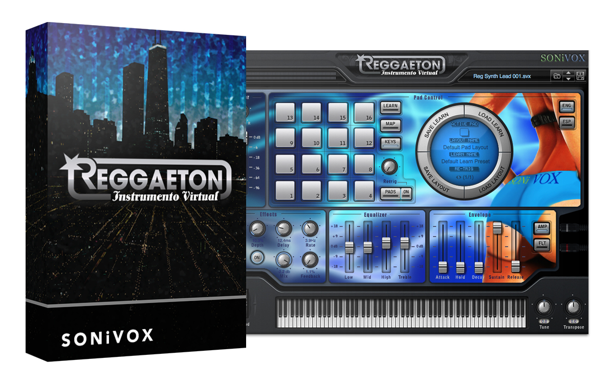 KVR: Reggaeton Instrumento Virtual by SONiVOX - Sound Module VST ...