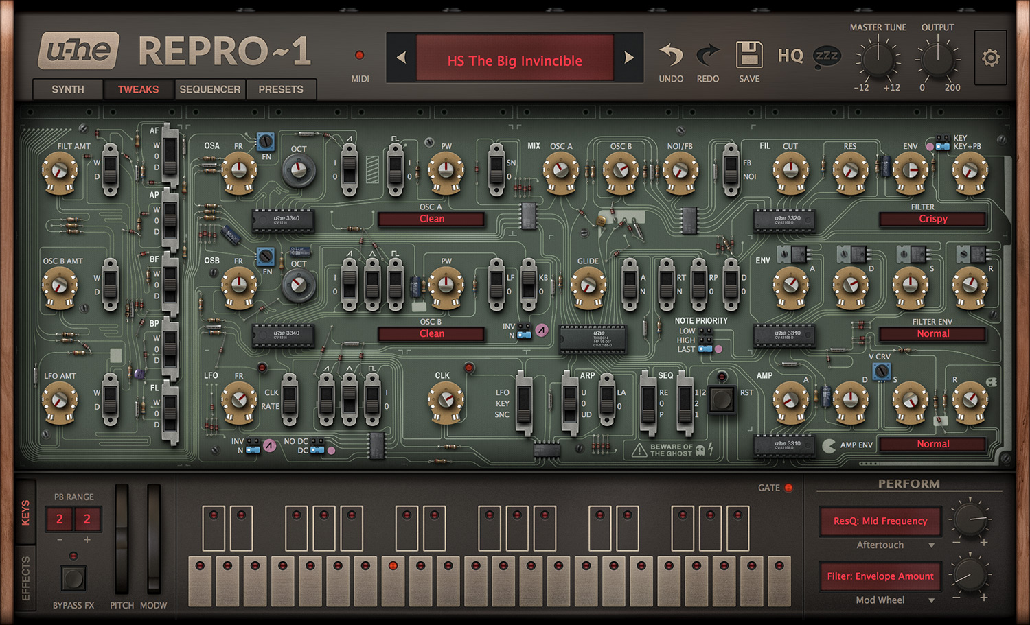 KVR: u-he releases Repro-1 for Mac OS X, Windows and Linux