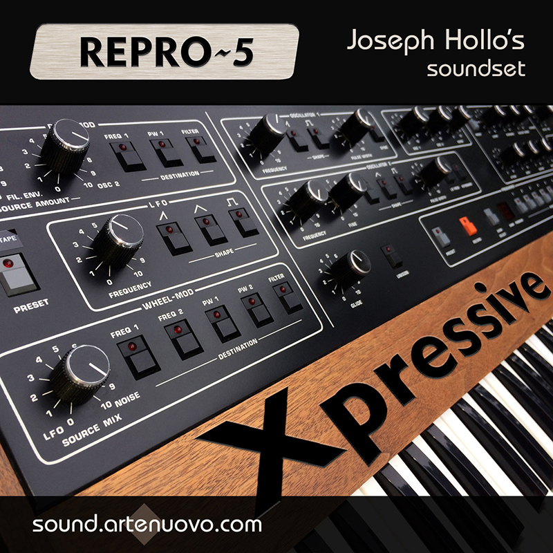 Xpressive soundset for Repro-5
