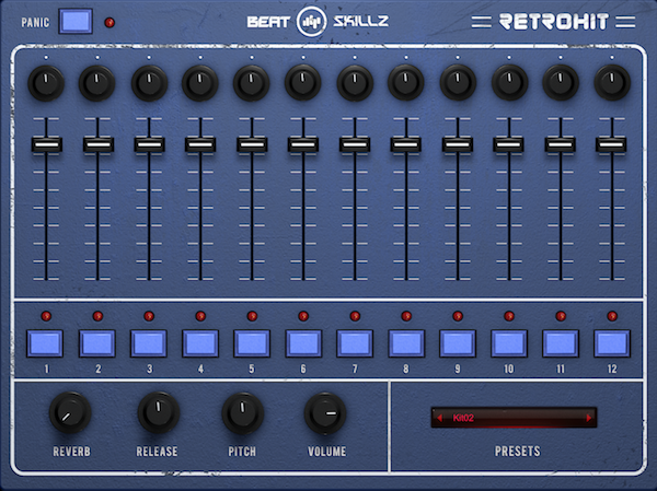 kvr retrohit drum machine by beatskillz drums vst plugin and audio units plugin. Black Bedroom Furniture Sets. Home Design Ideas