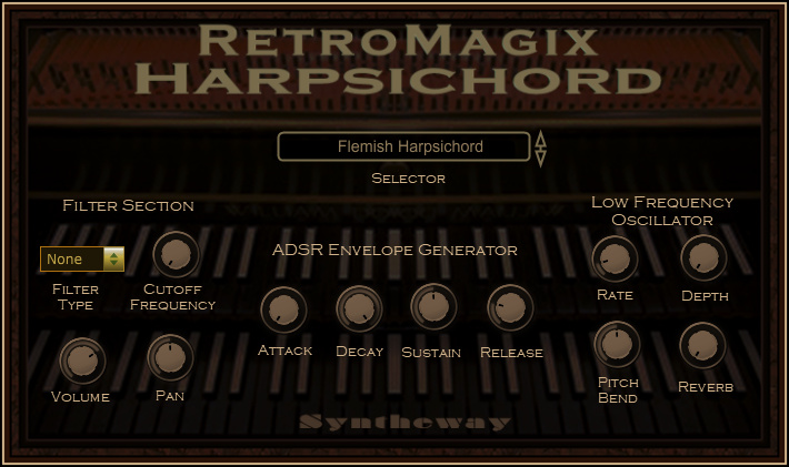 KVR: Syntheway releases RetroMagix Harpsichord for Windows