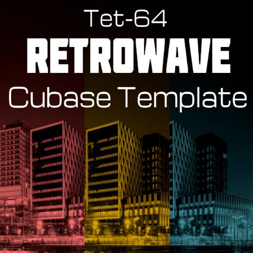 Retrowave Cubase Template
