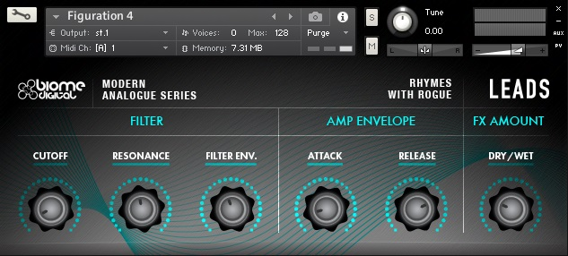 Rhymes with Rogue - Leads (Analog Synths for Kontakt, Live, Reason, Zampler)