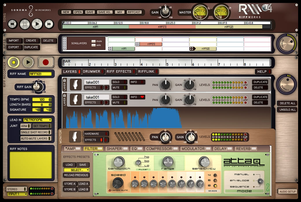kvr sonoma wire works releases riffworks t4 free guitar recording online collaboration software. Black Bedroom Furniture Sets. Home Design Ideas