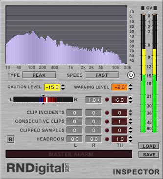KVR: Inspector by RNDigital Labs - Analyser / Monitor VST