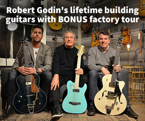 Robert Godin's lifetime building guitars with BONUS factory tour