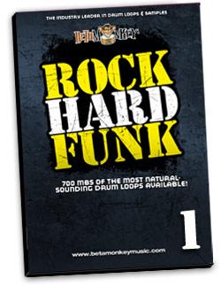 Rock Hard Funk | Drum Loops for Rock, Funk, Funk Rock